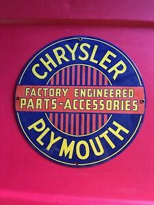 Vintage Style Chrysler Plymouth Factory Engineered Parts Accessories The Best!