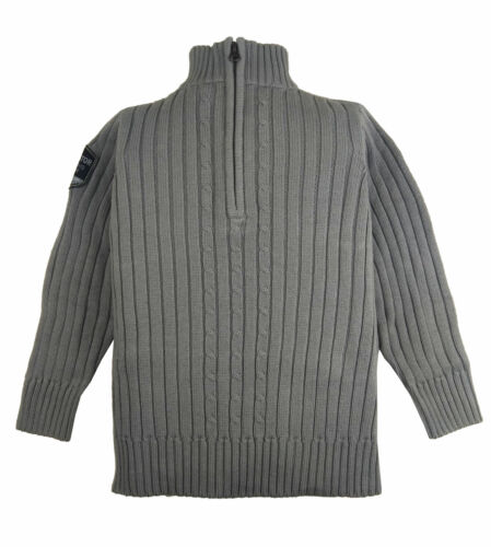 TCM Tchibo Garçons Tricot Pull Troyer Pull pull manches longues coton gris