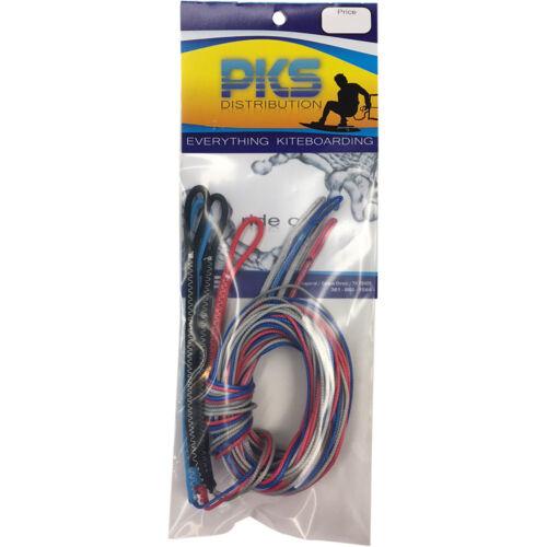 PKS Kiteboarding 6 Meter Fly Line Extension for Kitesurfing Kite