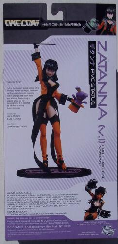 DC DIRECT NEW IN BOX AME-COMI ZATANNA V.1 HALLOWEEN VARIANT PVC STATUE
