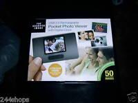 Sharper Image - Pocket Photo Viewer - With Digital Clock -