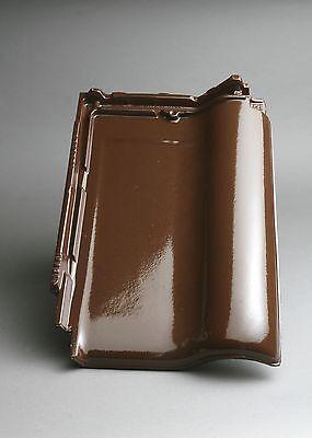 / Flachdachziegel Tondachziegel glasur Hilfreich Dachziegel M-plus Dunkelbraun
