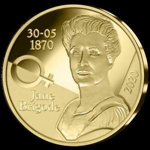 Belgique Or Jane Brigode 2020 Pp