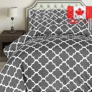 Utopia-Bedding-3-Piece-Printed-Duvet-Cover-Set-with-2-Pillow-Shams-Queen-Grey