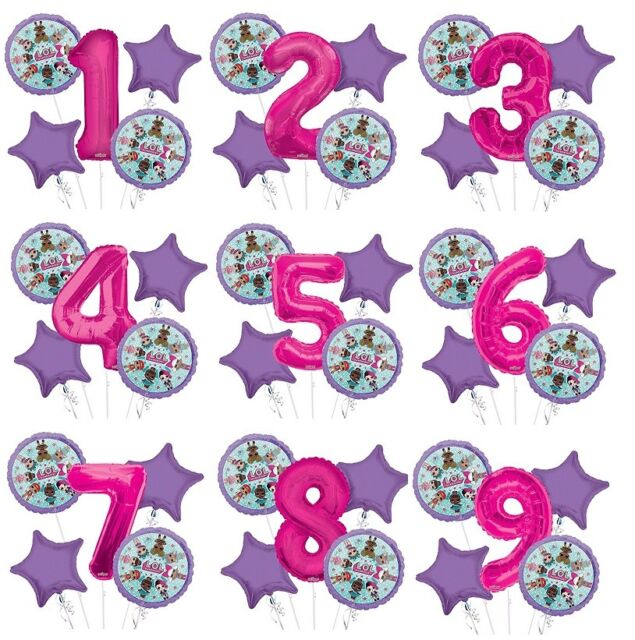 NEW Brilliant 21st Happy Birthday Balloon Bouquet Party Supplies Decoration ~5pc