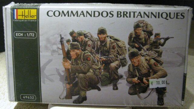 HELLER - COMMANDOS BRITANNIQUES - 1/72