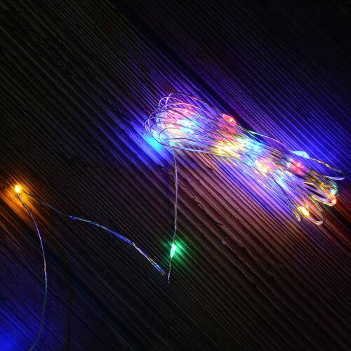 2 Mt 20Led 30Led Usb Betrieben Mini Led Kupferdraht String Lichterketten Le  B0