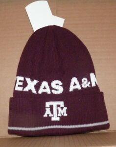 timeless design 6cc56 0649b Image is loading NEW-ADIDAS-NCAA-Texas-A-amp-M-Winter-