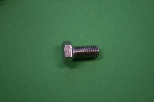 DIN 933 Rostfreier Stahl Größe Sechskantschrauben 8 M Gewindeschrauben