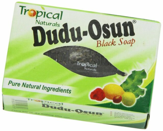 Dudu Osun African Black Soap 150g for eczema, Acne, fungus