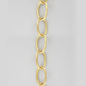 36-034-Medium-Duty-8Ga-Hanging-Lamp-Chandelier-Chain-POLISHED-BRASS