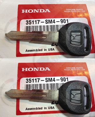 NEW 1988-2000 Honda Civic Key blanks blank