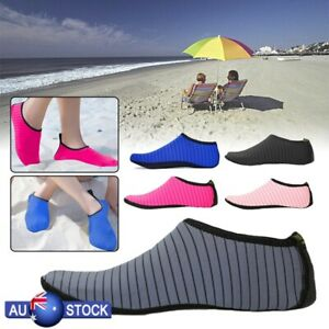 Men-Women-Beach-Water-Shoes-Aqua-Nylon-Diving-Socks-Wetsuit-Non-slip-Swim-AU