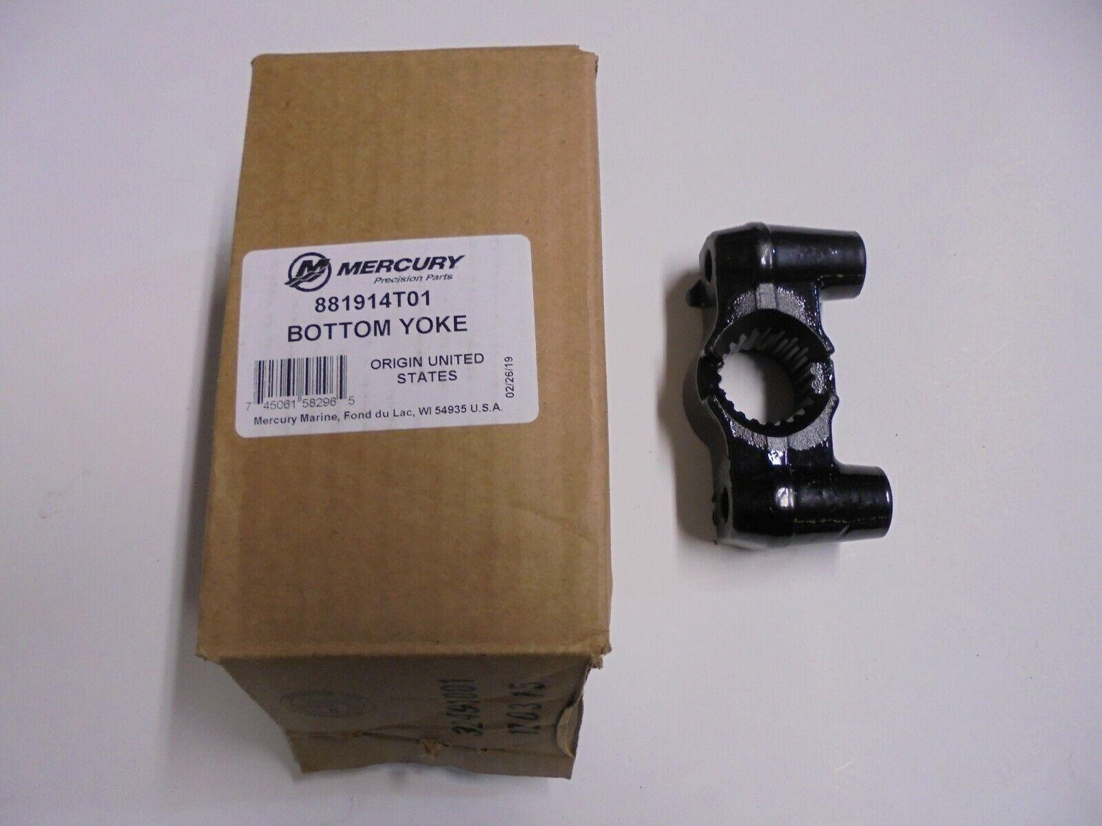 NIB Mercury 3/&4 Cyl 75-90-115-125 Yoke Bottom Steering Arm 881914T01 Midsection