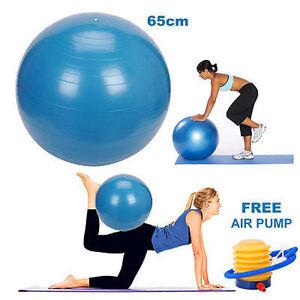 65CM-cuerpo-de-nucleo-de-Yoga-gimnasio-de-rafaga-anti-Ejercicio-Gimnasio-Bola-Embarazo-Nacimiento-UK