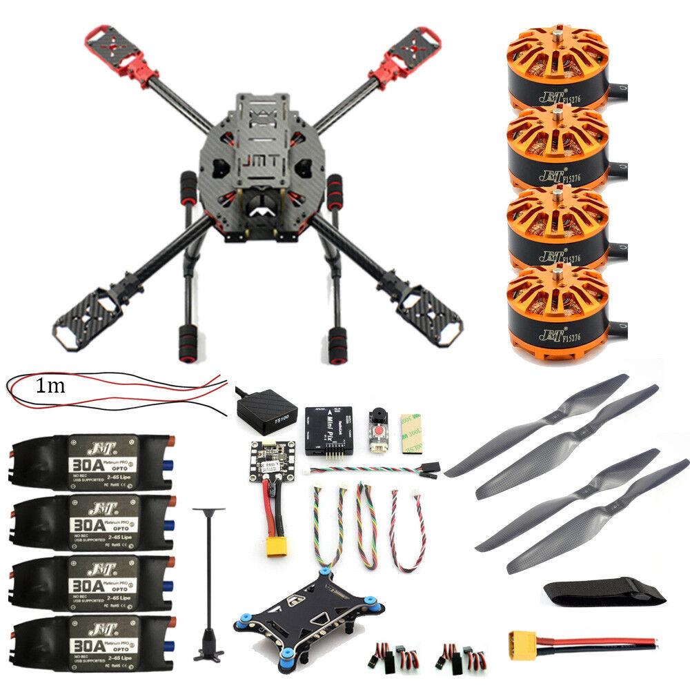 Hágalo usted mismo 2.4GHz 4-Aixs cuadricóptero RC Drone ARF 630 mm Marco Kit Radiolink Mini PIX  Gps