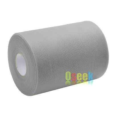 "Tulle Roll 6"" x 100yards Mesh Organza Ribbon Tutu Wedding Party Gift Bow Decor"