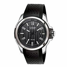 Citizen Eco-Drive Men's AW1150-07E AR 2.0 Black Poly Strap 44.5mm Sport Watch