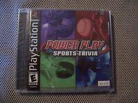 Power Play: Sports Trivia (sony Playstation 1, 2002)