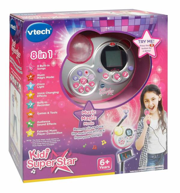 Boxed VTech 178503 Kidi Super Star Karaoke Singing Toy - Y99