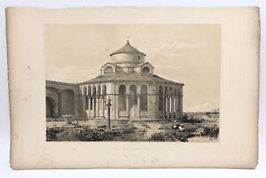 Santa-Fosca-Torcello-Venice-1843-G-Moore-Lithograph-Architecture-of-Italy