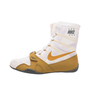 Details about NIKE HYPERKO LIMITED EDITION WHITE/METALLIC GOLD BOXING SHOES  Men's