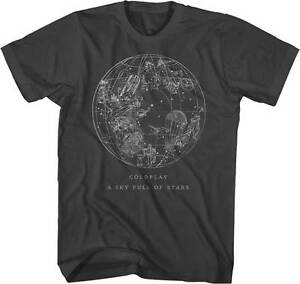 COLDPLAY-SKY-FULL-OF-STARS-ROCK-BAND-ALTERNATIVE-MUSIC-PUNK-T-TEE-SHIRT-S-2XL