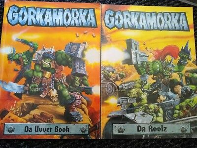 Originale ~ Warhammer 40k ~ Gorkamorka Da Roolz E Da Uvver Libro ~ Gratis Uk P & P ~-mostra Il Titolo Originale