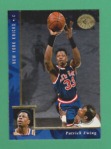 76640f74808 1995-96 Upper Deck SP Championship Patrick Ewing New York Knicks #70 ...