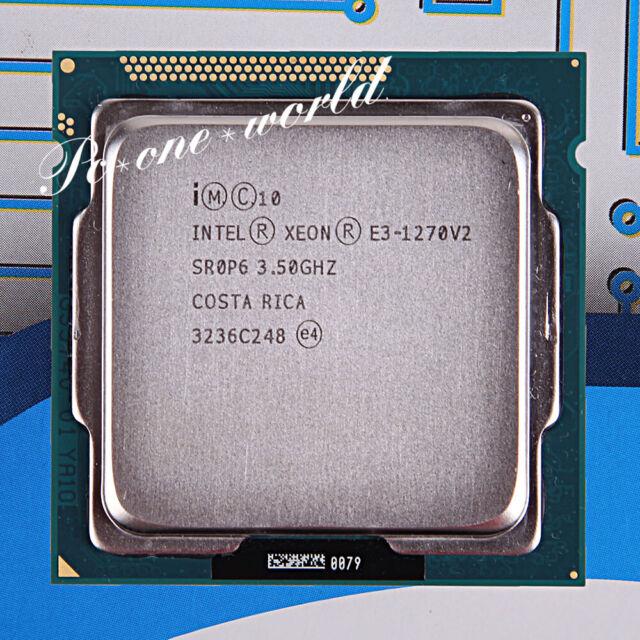 Intel Xeon E3-1270 V2 3.5GHz LGA1155 8MB Quad Core E3-1270V2 CPU Processor E3 1270 V2