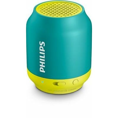 Philips BT-50A/00 2.1 Wireless Bluetooth Speaker (Green/Yellow) (SMP4)