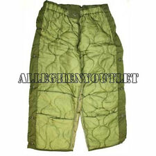 US Military M65 FIELD PANT TROUSER LINER Quilted Cold Weather XS S M L XL VGC