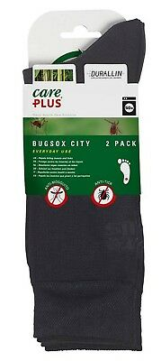 Care Plus Bugsox Cooling Insect Repellent Treated Travel Adventure Socks