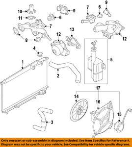 hyundai oem 99-05 sonata cooling system-water pump inlet 2563137100   ebay  ebay