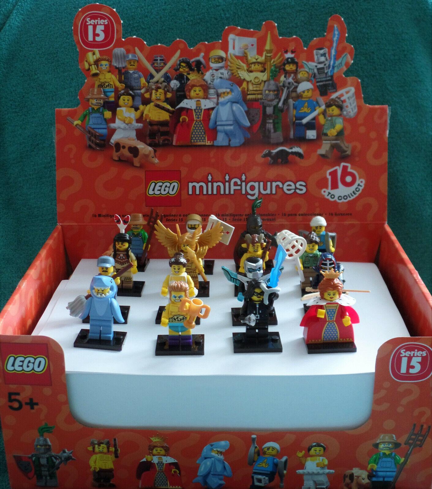 71011 LEGO® Minifigures (Komplettsatz) Serie 15 - Mit dem Display