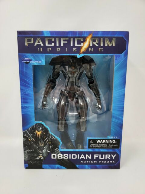 "Diamond Select Pacific Rim: Uprising OBSIDIAN FURY 8"" Action Figure 2019 New"