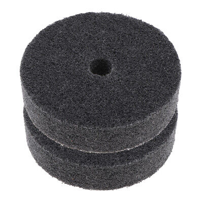 3Pcs 3inch Abrasive Polishing Wheel Replacement Metal Dust Paint Remove Tool