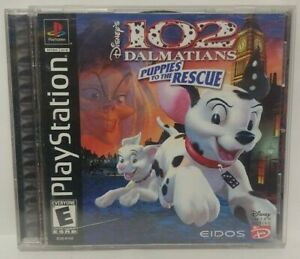 102 Dalmatians Disney - Playstation 1 2 PS1 PS2 Game Complete Tested Working