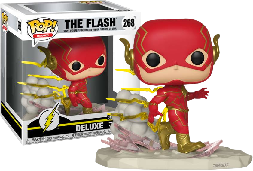 FUNKO POP The Flash - The Flash Jim Lee Collection Deluxe