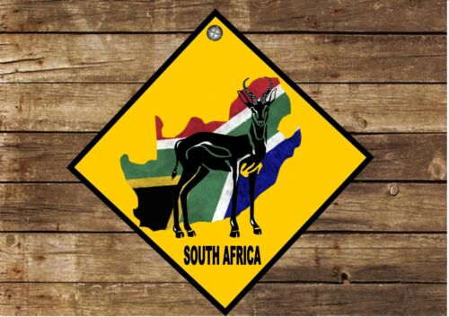 South African Hanging Wall Plaque Sign South Africa Sign Man Cave Sign