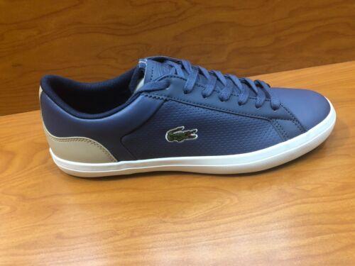 Lacoste Men/'s Ortholite Sneakers Lerond 418 In Dk Blue Natural