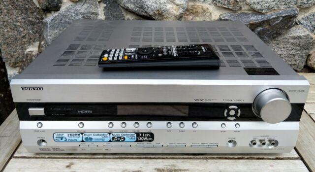 Onkyo TX-SR506 * 7.1 180 Watt Verstärker Receiver * HDMI DTS DOLBY + FB