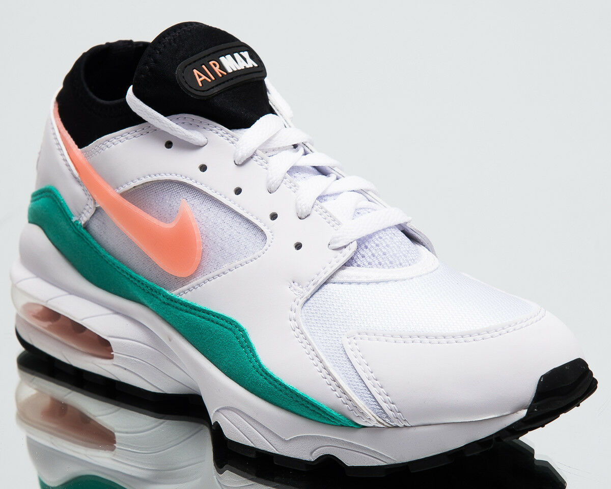Nike Air Max 93 Watermelon Homme New Sneakers Blanc Crimson Bliss Chaussures 306551-105