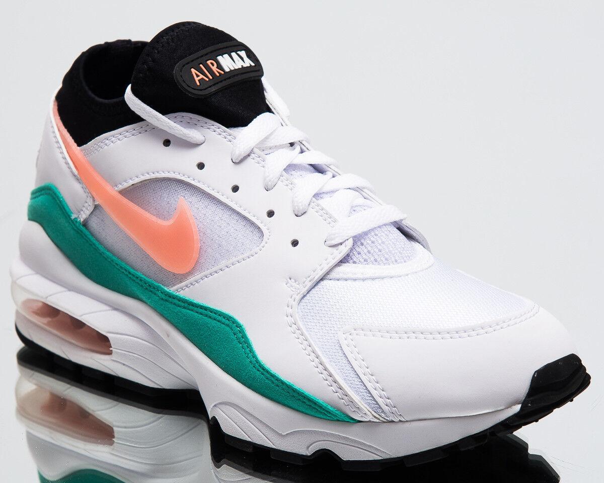 Nike air max 93 anguria uomini scarpe nuove scarpe 306551-105 bianco crimson bliss
