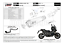miniatura 5 - MIVV TUBO DE ESCAPE HOM DELTA RACE COPA CARBONO HONDA X-ADV XADV 750 2018 18