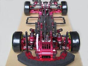 Alliage-amp-carbone-SAKURA-D3-CS-1-10-4x4-Drift-Racing-car-frame-Body-amp-Front-One-Way