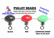 made with SIZE 2 SWIVELS RED 100x PULLEY RIG BEADS by Koike Extra Strong