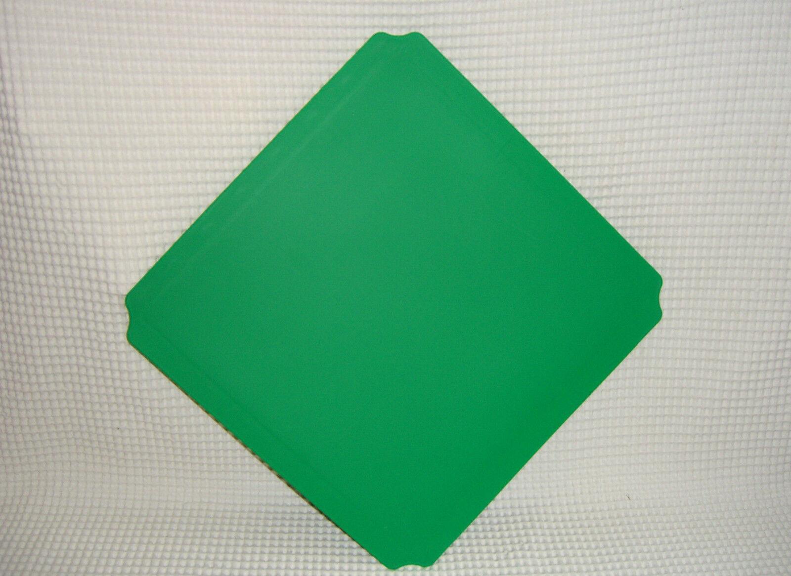 40x40 grüne PLATTE QUADRO NEU Platten GRÜN 00303 Platte