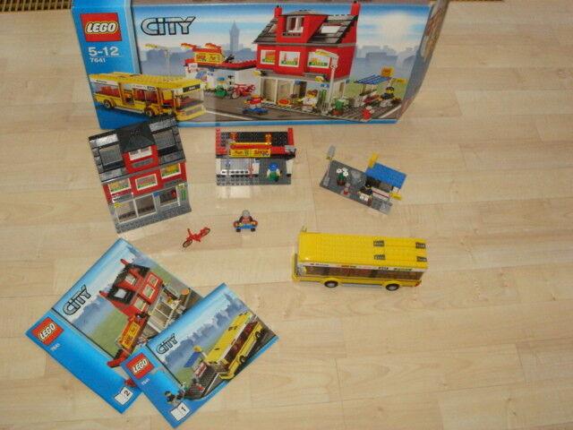 Lego City 7641 - Stadtviertel mit Bus und Haltestelle in OVP - Top Zustand