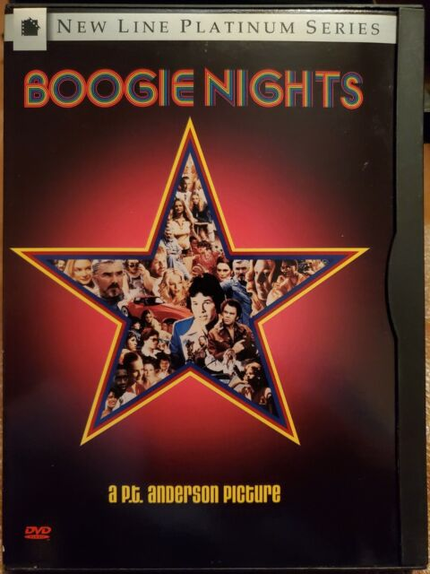 Boogie Nights New Line Platinum Series DVD  Used LIKE NEW(Snap Case)